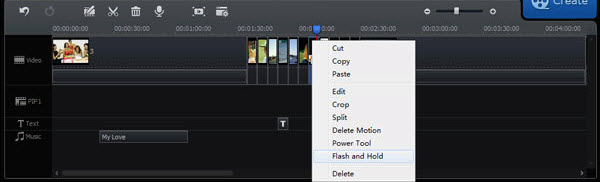 Edit AVI Video with Timeline Panel