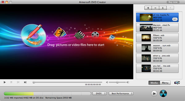 burn mov to dvd mac