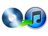 Rip DVD to iTunes